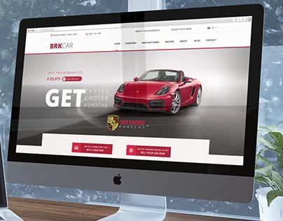 BRKCAR - Rent A Car UI / UX Design
