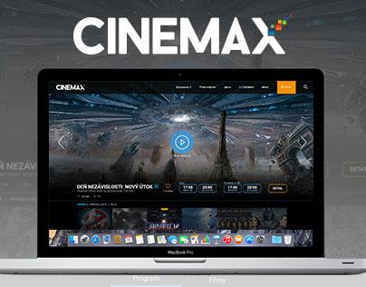 CINEMAX web concept