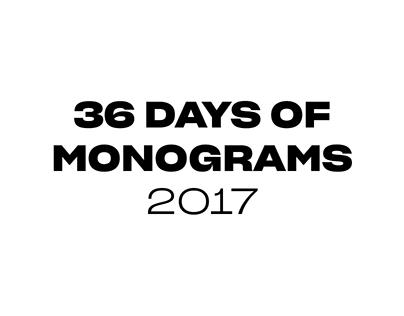 36-10 Days of Monograms
