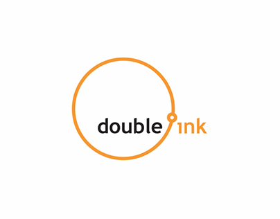 Doubleink //logo for publishing services