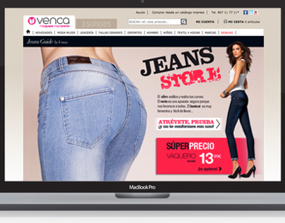 Jeans Store 2012 Online Marketing Campaign