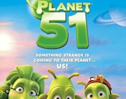 FILM. PLANET 51. Artwork. 2010