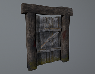Wooden Door - Asset Creation