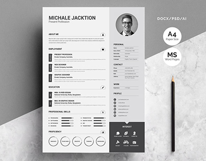 3 Piece Resume Set