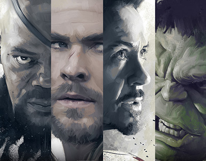 Official Avengers: Age of Ultron Art Show