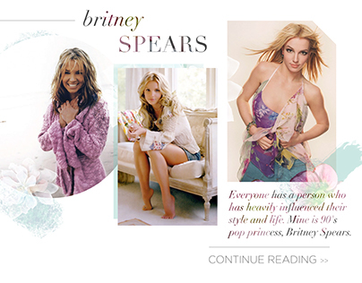 Britney Spears Post Header