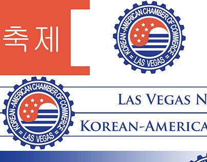 Las Vegas Korean American Chamber logo designs