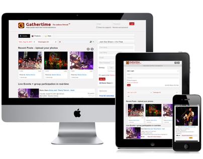 Gathertime Responsive HTML5 Design