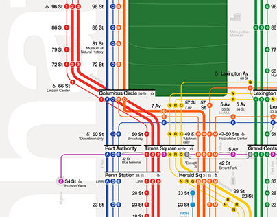 The New York City Subway Map Redesigned