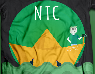 Proposta de T-Shirt para o Enterro 2017   NTC
