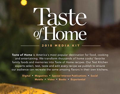 Taste of Home Media Kit
