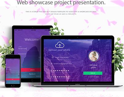 Login page style Graphic Design, Web Desig UI/UX MEMB