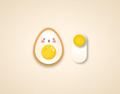 Toggle switch : Egg 🥚  or Avocado 🥑  ?