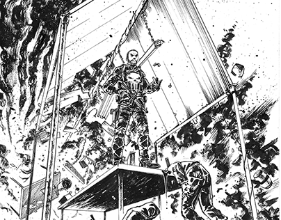 The Punisher Sample Pages