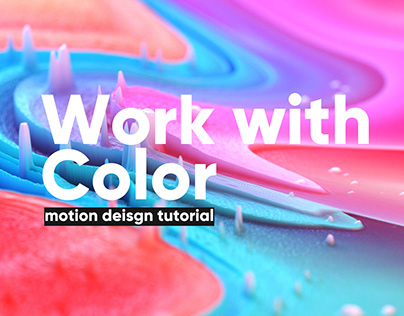 Work with Color in Motion Design