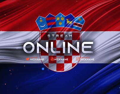 Pacote Twitch Tropa Da Croácia