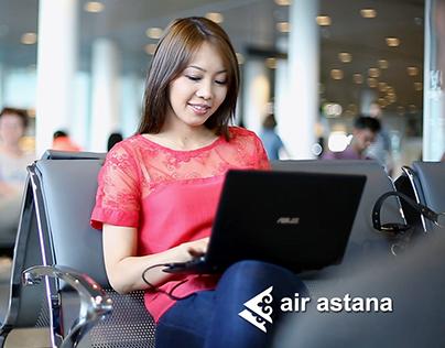Air Astana - имиджевый ролик