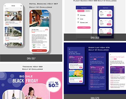 Daily UI Challenge Design - From 051 - 100