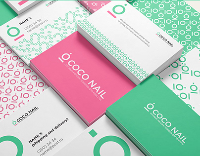 Logotype & Patterns for cosmetic brand