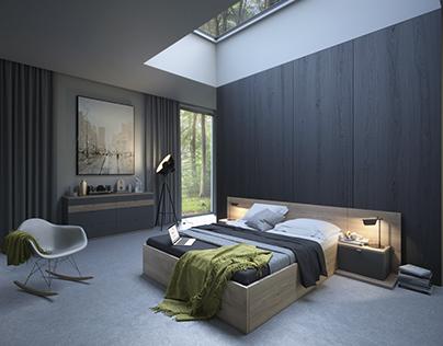 Komandor | interior design | visualizations
