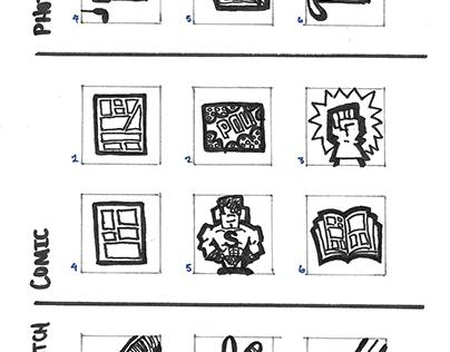 Art Media Icons