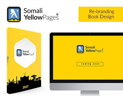 Somali YellowPages® -  Re-branding & Book Design
