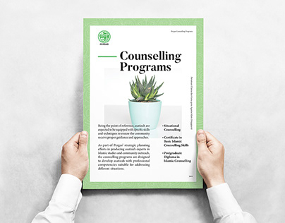 Poster Design for Pergas Counselling Program