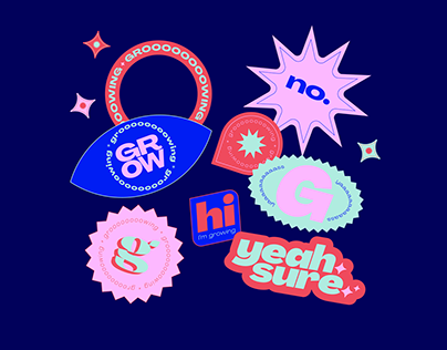 personal sticker set