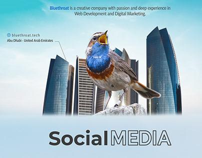 Social Media - bluethroat