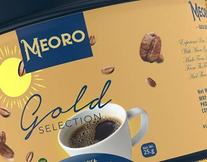Meoro Brand Coffee Packaging