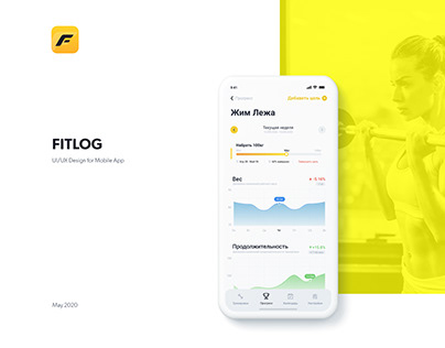 Fitlog - Personal Fitness Trainings