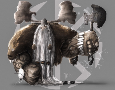 Perun - Slavonic god