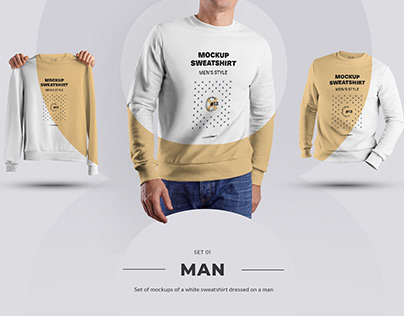 24 Mockup Mens Sweatshirt (3 free) by december.dsgn