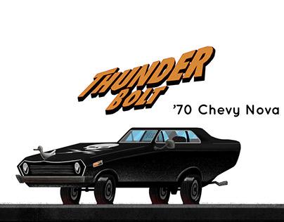 '70 Chevy Nova (Movie Car #2)