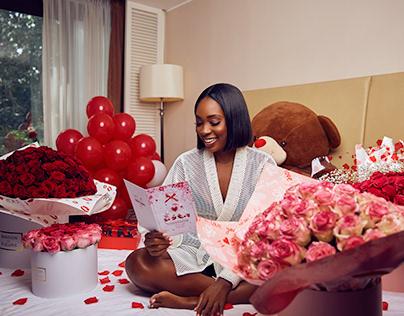 Unique Floral Valentine Campaign