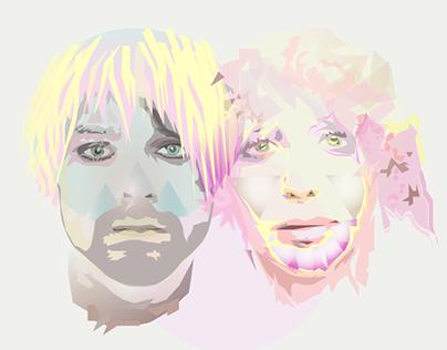Kurt Donald Cobain & Courtney Love