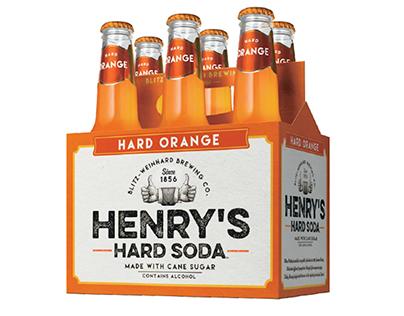 Henry's Hard Soda in Spanish