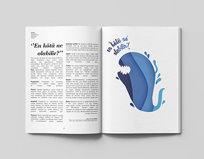 """En kötü ne olabilir?"" Editorial Illustration for BÜMED"