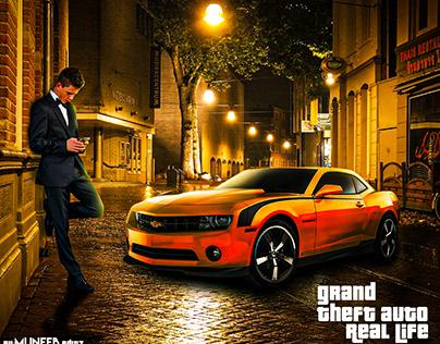 Grand Theft Auto Real Life Manipulation