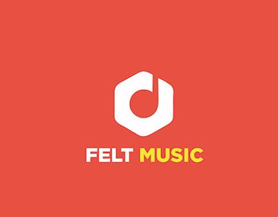 Felt music logo