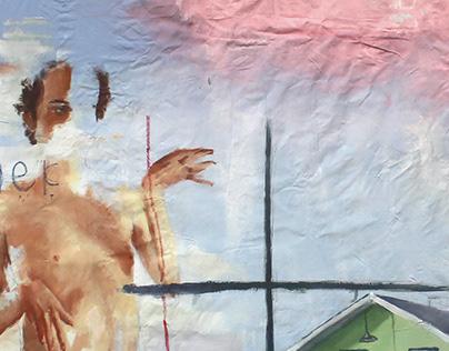 Bedsheet painting 01