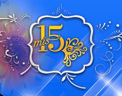 Tarjeta de invitación para 15 años (Linares)