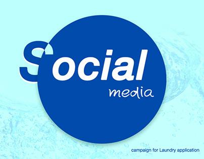 Social Media Laundry application