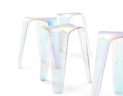 Coloring stool