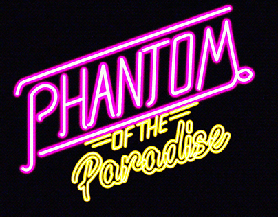 Title Sequence 3D Animation for Phantom of the Paradise