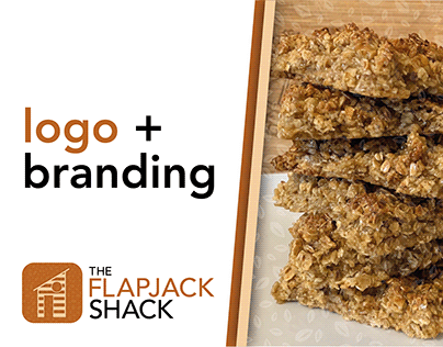 The Flapjack Shack - Logo & Branding
