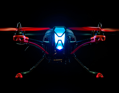 RC Logger NovaX 350 Quadcopter - Product Photography