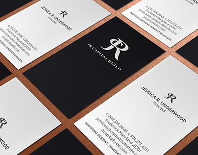 JR Capital Build Brand + Identity