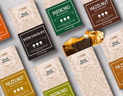 La Salvaje - Chocolate Packaging