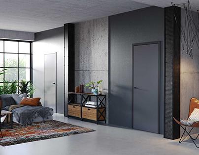 Inustrial doors